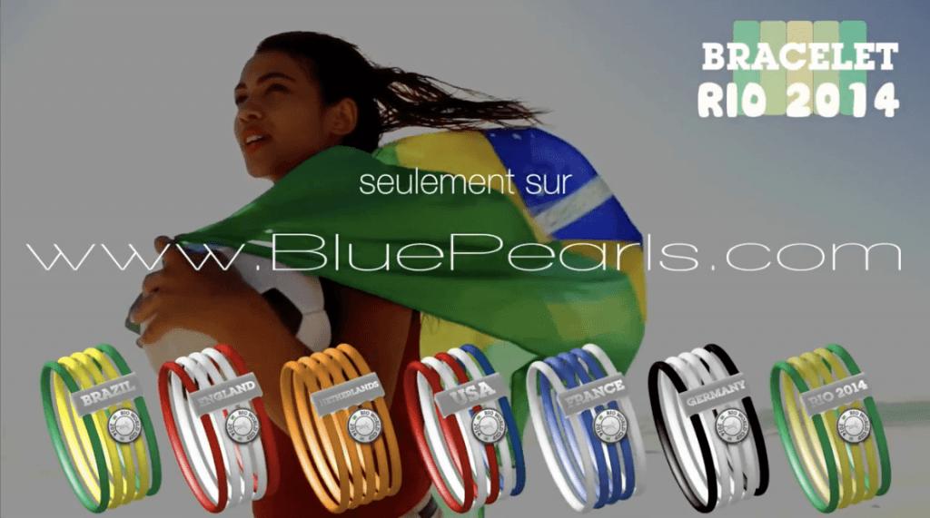 La vidéo do Brazil : Une publicité réalisée pour le site www.bluepearls.fr